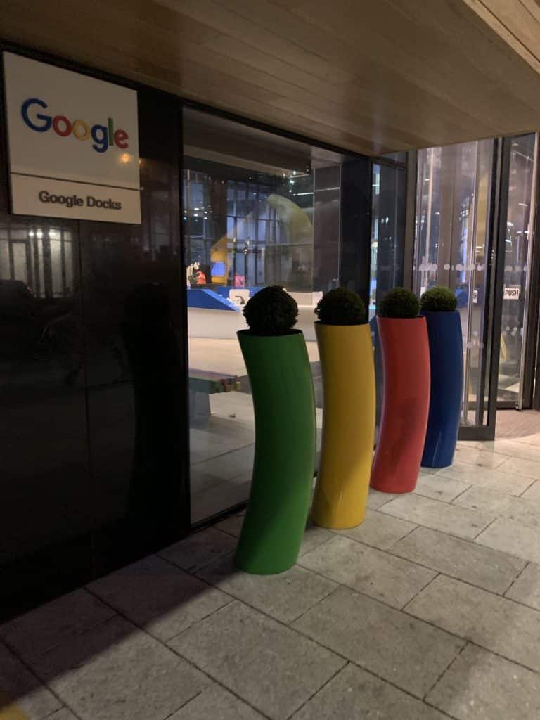 Siège Européen Google Irlande