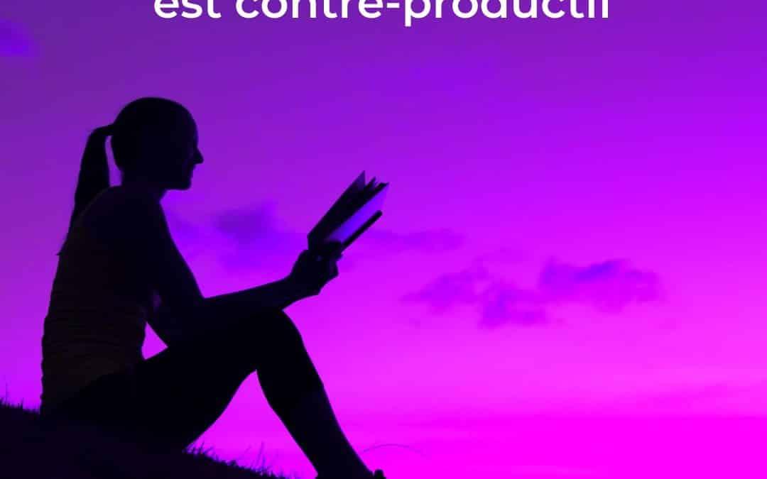 5 preuves que lire trop est contre-productif