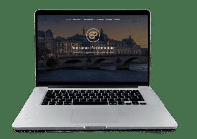 site web Soriano patrimoine