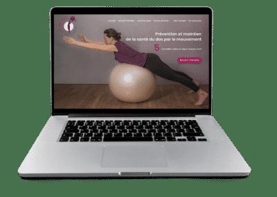 site web Cécile Gym Ballon