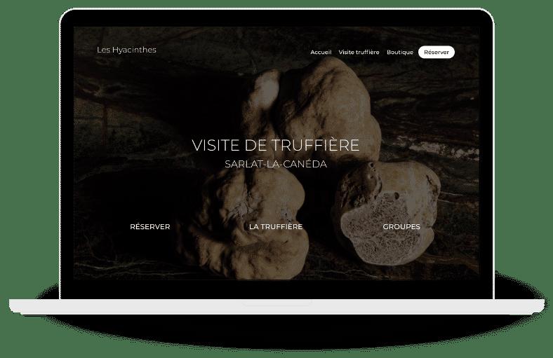 site web Truffière Sarlat